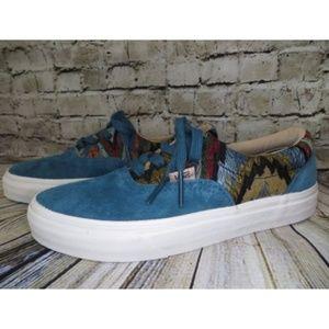 076b6e30fc7330 Vans Shoes - Vans Era CA Italian Weave Suede Atlantic Deep NEW
